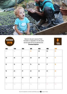 Order your 2018 Calendar!