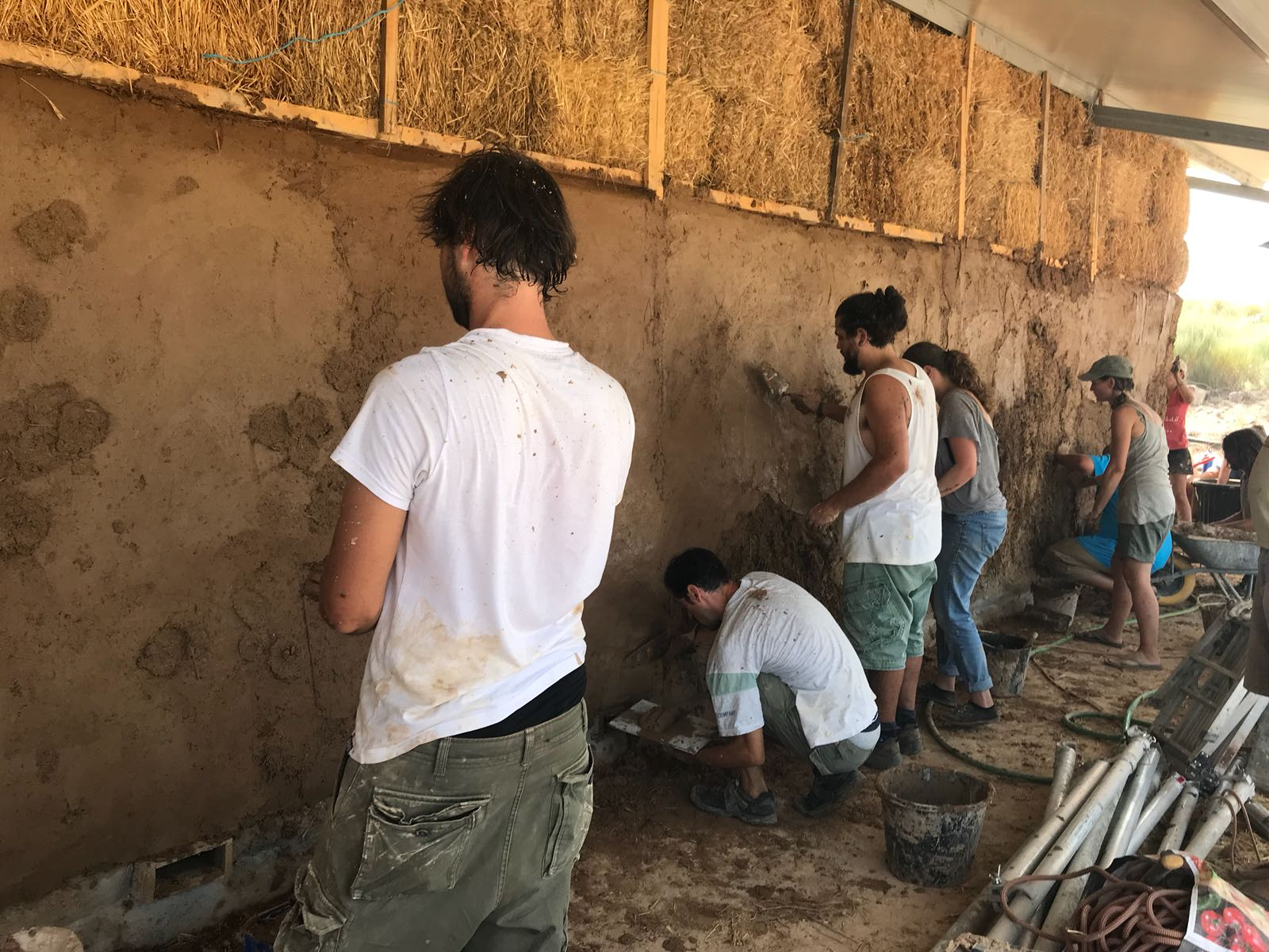 Natural Plastering Workshop